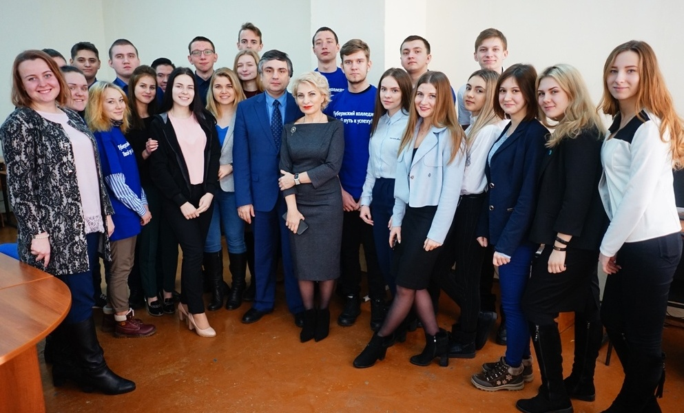 Встреча с министром образования и науки Самарской области В.А. Акопьяном